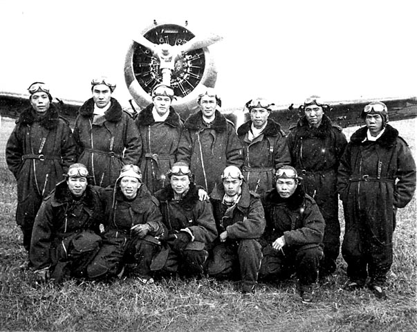 Chinese Hawk 75 Squadron