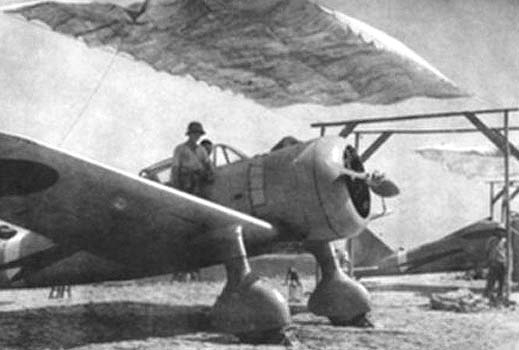 Ki-27s near Khalkhin Gol