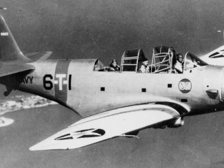 Douglas TBD-1 of VT-6