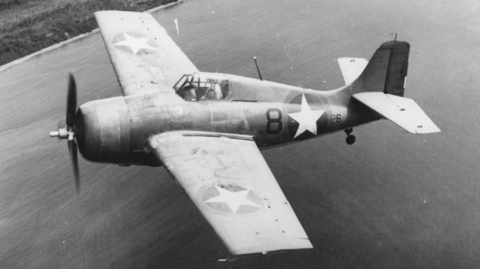 F4F-4 Wildcat of VGF-27 in the Solomons 1943
