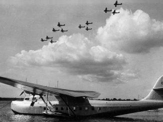 Martin 130 China Clipper at Pearl Harbor