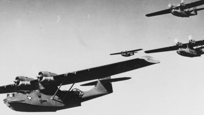 PatWing-4 PBYs Kiska